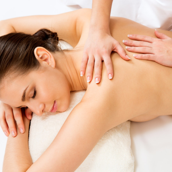 Massagem profunda e descontraturante local